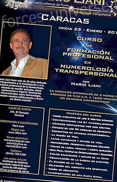 CARACAS: Transpersonal Numerology - Vocational Training COURSE - Weekly - Every Saturday - Starts January 23, 2010 - Messages from Heaven