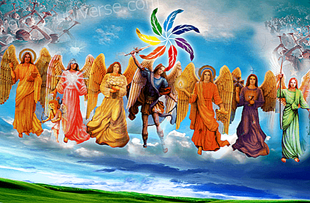 The 7 Archangels their spiritual colors- Messages from Heaven -