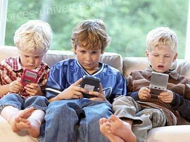 How do mobile phones affect interaction in children, if not accompanied by literature?