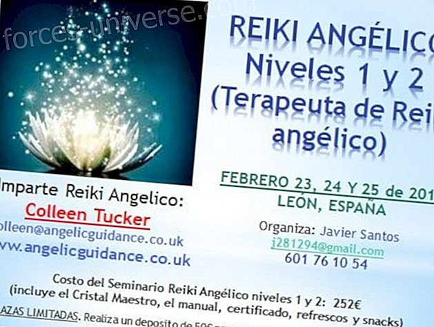 Reiki Angelico - Mga Antas 1 at 2 - (Reiki Angelico Therapist) - Pebrero 23, 24 at 25, 2018 - León, Spain